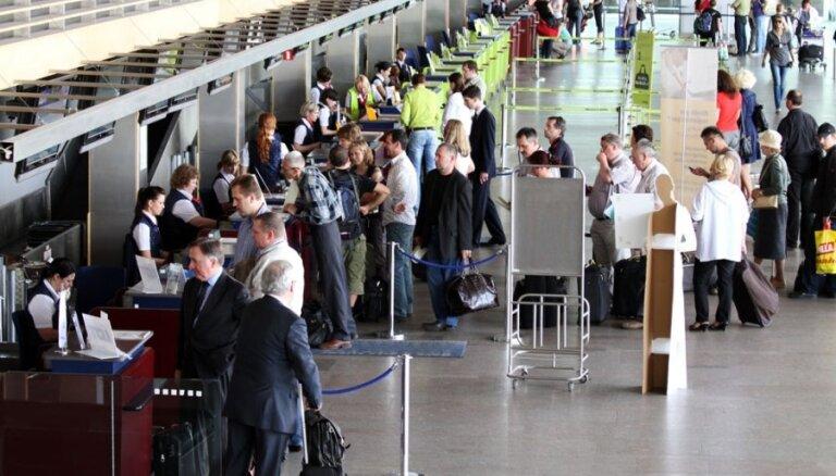 No Rīgas lidostas populārākie galamērķi pērn - Londona, Maskava, Frankfurte