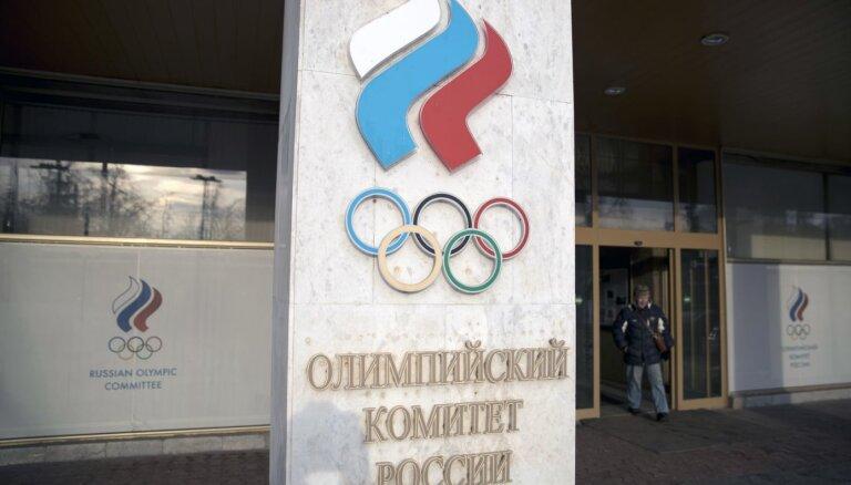 Krievijas dopinga skandāls: WADA komiteja iesaka četru gadu diskvalifikāciju