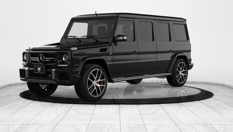 Pagarināts un bruņots 'Mercedes' G-klases limuzīns par miljonu eiro