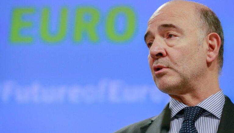 Francija uz īsu brīdi drīkstētu pārkāpt ES budžeta deficīta noteikumus, paziņo Moskovisī