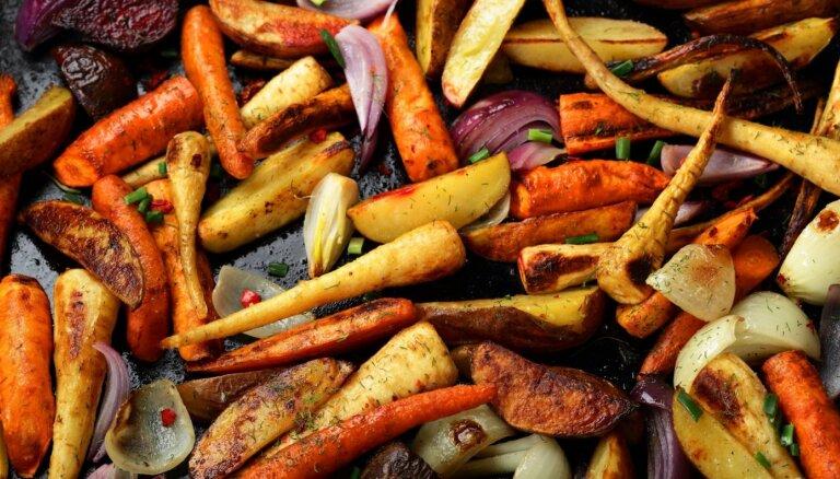Dārzeņi cepeškrāsnī: atkārtojam virtuves knifu ābeci pirms lielās rudens izēšanās