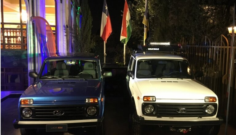 'Lada' pēc 20 gadu pārtraukuma atgriežas Čīles tirgū
