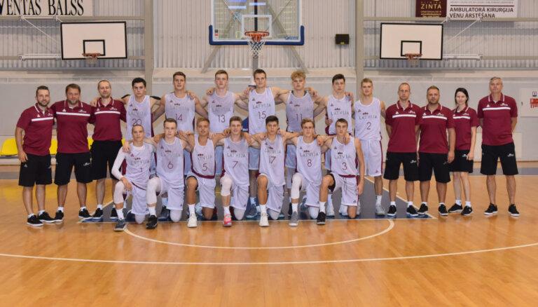 Latvijas U-18 basketbola izlase izcīna Baltijas kausu un noskaidro komandas sastāvu Eiropas čempionātam