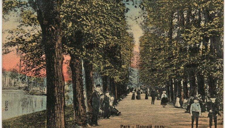 Kā radās Rīgas vecākais parks - Pētera I iztēlotais Viesturdārzs