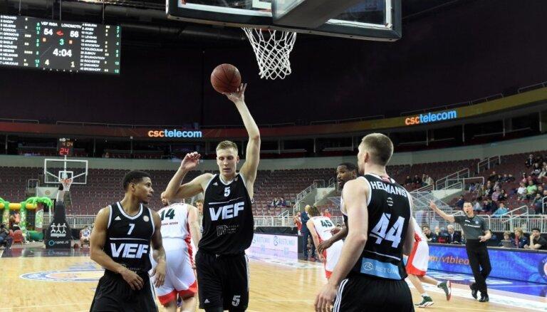 Mejeris pagarina līgumu ar 'VEF Rīga'; komandu papildina amerikāņu centrs Zeks