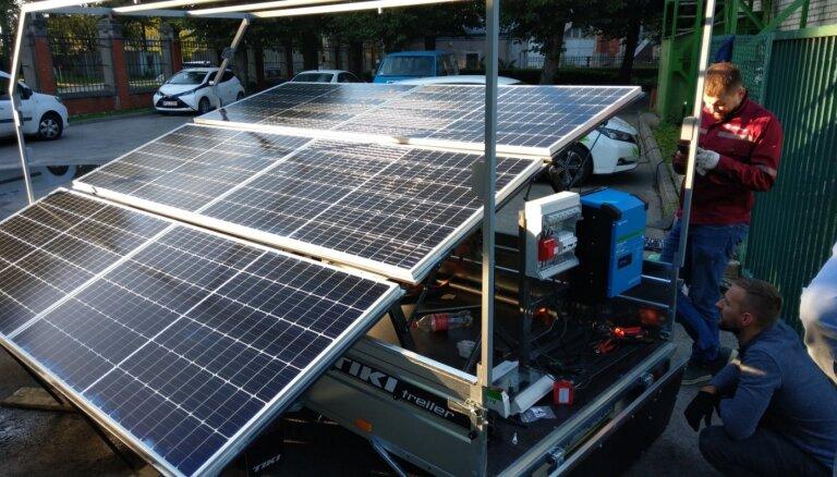 Latvenergo построит парки солнечной энергетики в Литве и Эстонии
