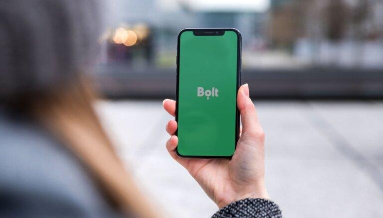 Пассажиры смогут через приложение Bolt заплатить чаевые водителям такси