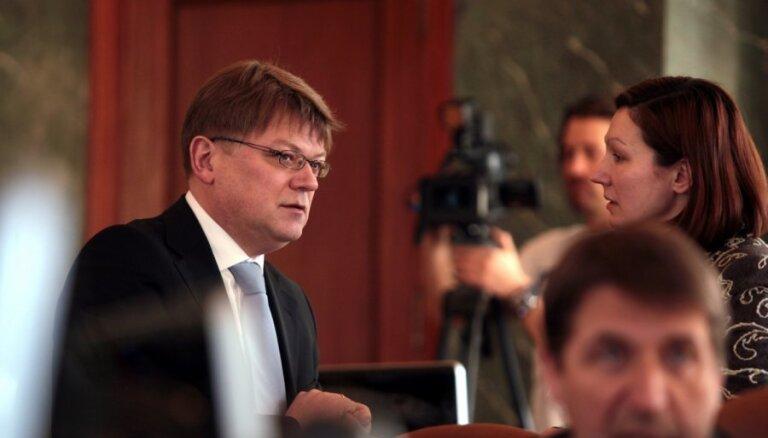 Štokenbergs pēc amata pilnvaru beigām plāno nodarboties ar uzņēmējdarbību