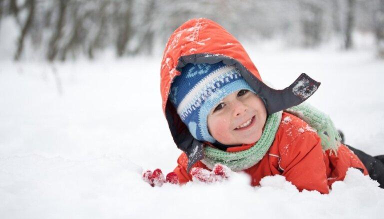 Гора на улице Деглава открыта для зимних развлечений