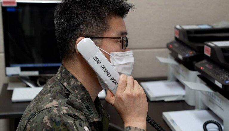 Ziemeļkoreja un Dienvidkoreja atjaunojušas sakaru līnijas