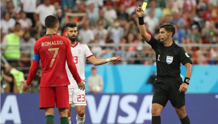 Irānas izlases treneris: noteikumi visiem vienādi, arī Mesi un Ronaldu