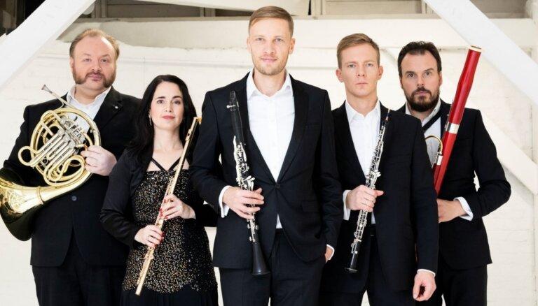 Liepājā ar programmu 'Venēcijas karnevāls' uzstāsies 'Carion Quintet'