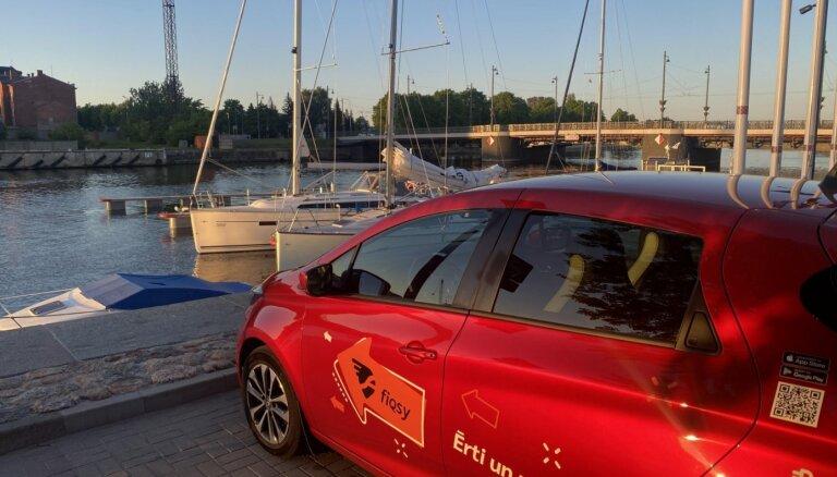 Elektromobilitātes uzņēmums 'Fiqsy' uzsāk darbību Liepājā