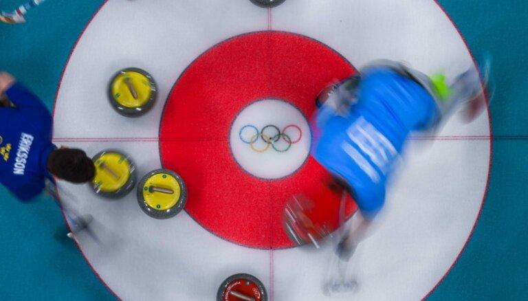 XXIII Ziemas olimpisko spēļu rezultāti kērlingā vīriešiem (24.02.2018.)