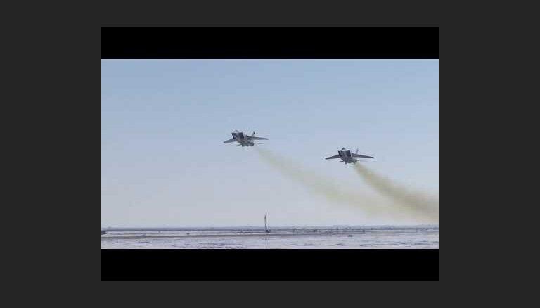 """Минобороны показало испытания ракеты """"Кинжал"""", о которой говорил Путин"""