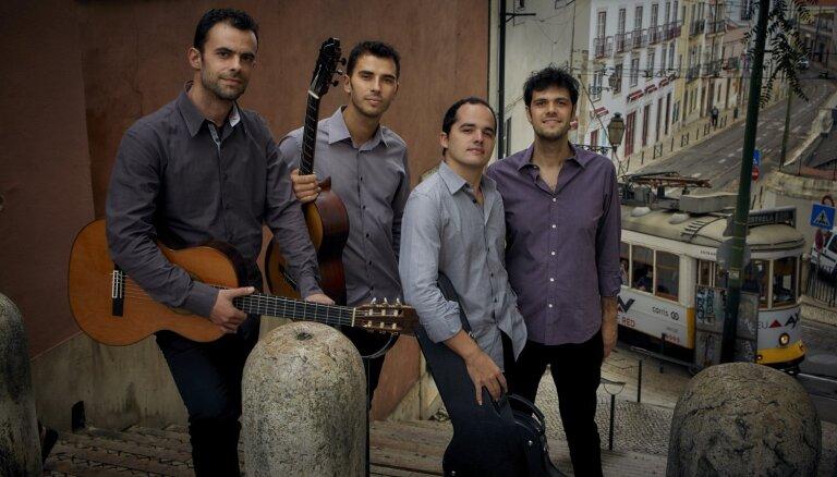 VEF Kultūras pilī skanēs 'Mūzika leģendām' Lisabonas ģitāru ritmos