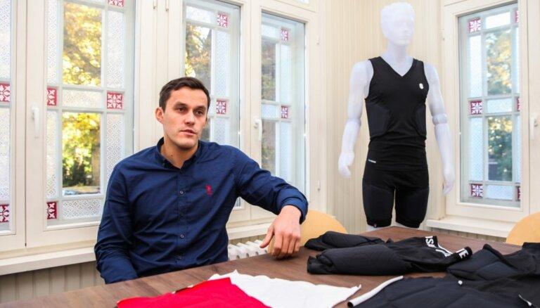 Latvieši radījuši triecienizturīgu sporta apģērbu, sadarbojas ar brāļiem Bertāniem