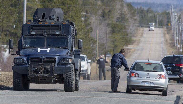 Apšaudē Kanādā nogalināti 16 cilvēki (plkst.6:45)