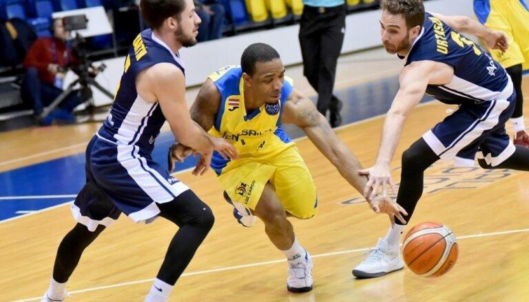 BK 'Ventspils' FIBA Čempionu līgas spēlē sīvā cīņā piekāpjas grupas līderiem UCAM