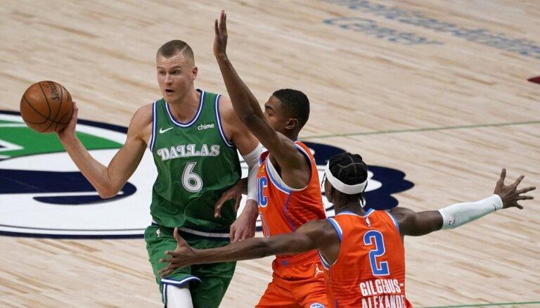 Porziņģis cer uz komandas uzņemtā ritma turpināšanu pēc NBA 'All Star' spēles
