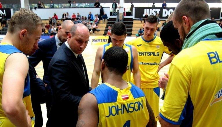 Štelmahers pēc BK 'Ventspils' otrā zaudējuma FIBA Čempionu līgā: nemeklējam attaisnojumus