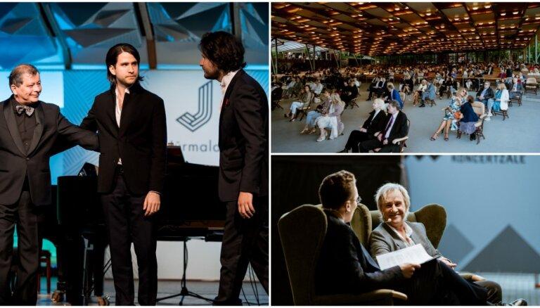 Foto: Pianisti Osokini ar skaistu koncertu atklāj 'Jūrmalas festivālu'