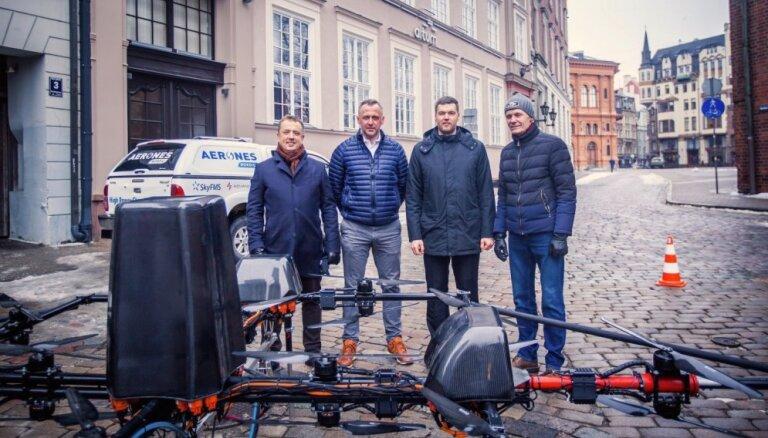 Dronu ražotājs 'Aerones' piesaistījis divu miljonu eiro investīcijas