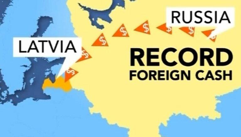 """Богатые россияне вывели в Латвию миллиард из """"проблемного"""" Кипра"""