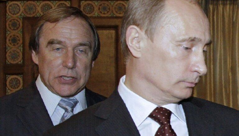 """Друзья Путина Ролдугины часто гостят в Риге и руководят бюро """"Газпрома"""" в Межапарке"""