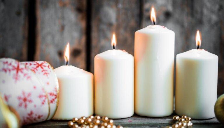 Neuzraudzītas sveces šogad sākušas jau 10 ugunsgrēkus