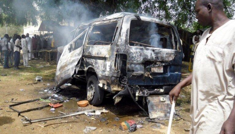Spridzinātājs pašnāvnieks Čadas galvaspilsētā nogalina 14 cilvēkus