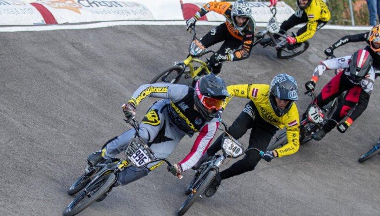 'SMScredit.lv BMX čempionāta' sezona Valmierā noslēdzas ar Krīgera uzvaru