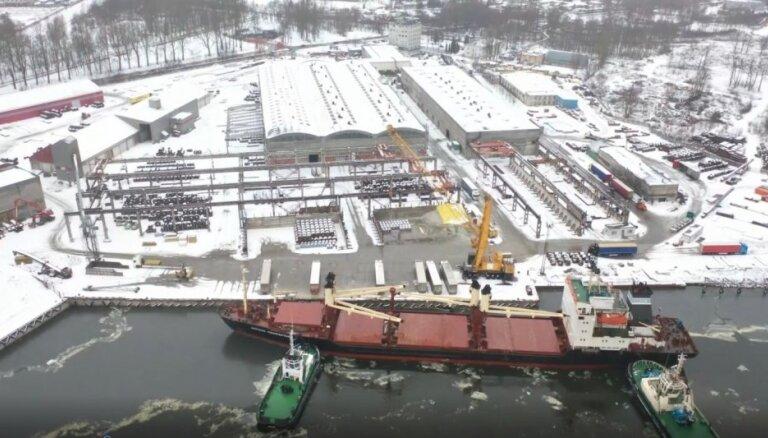 """Par strauju izaugsmi Rīgas ostā apbalvo uzņēmumu SIA """"Extron Baltic"""""""