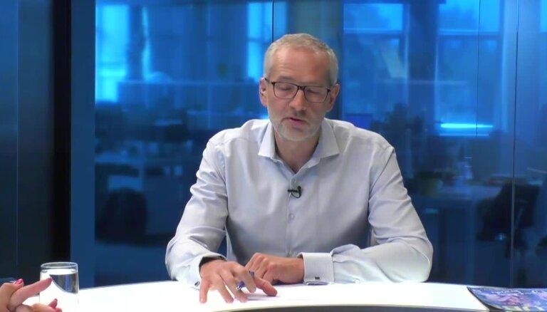 'Delfi TV ar Jāni Domburu' atbild Gunta Baško.