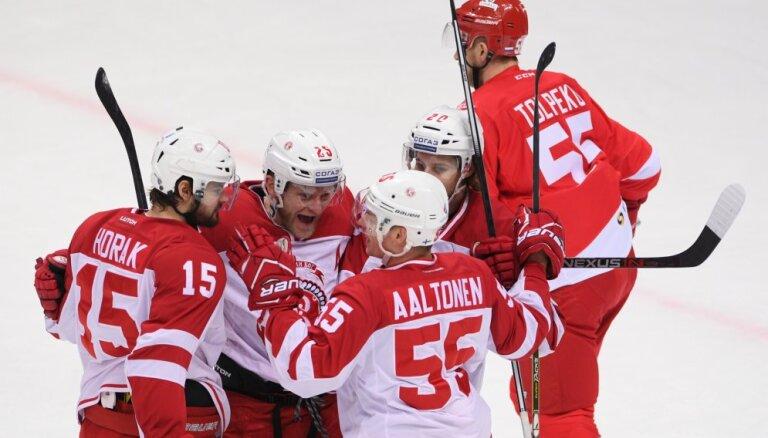 'Spartak' neļauj 'Avangard' kļūt par KHL Austrumu konferences līderi