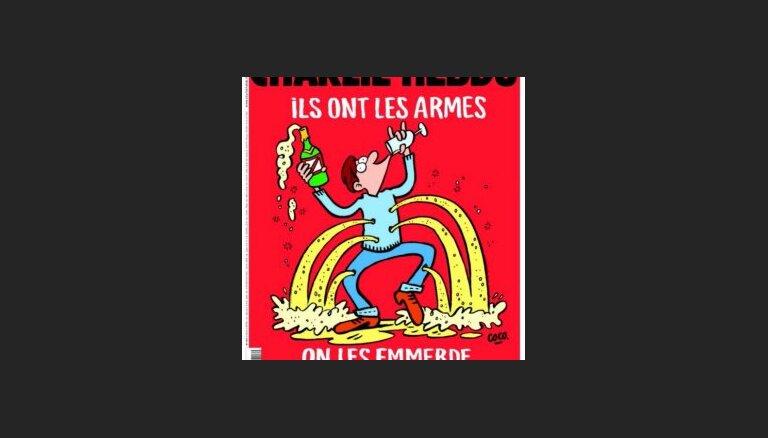 Журнал Charlie Hebdo опубликовал карикатуры на теракты в Париже