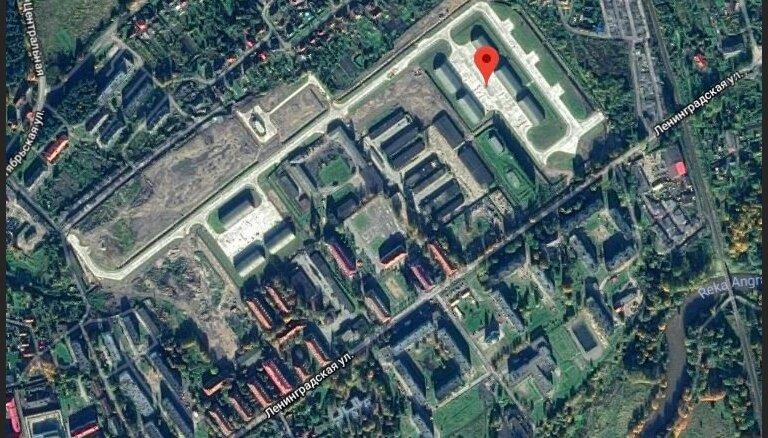 Karte: Kur Kaļiņingradā uz palikšanu tiek izvietotas 'Iskander' raķetes