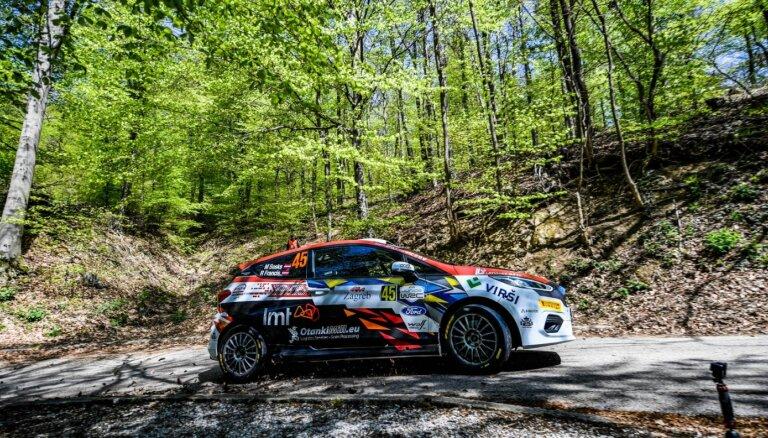 Sesks/Francis Beļģijā lūkos pārvarēt WRC posma sarežģītos ceļus