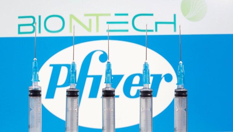 Kanāda sāks vakcināciju ar 'Pfizer' un 'BioNTech' izstrādāto Covid-19 vakcīnu