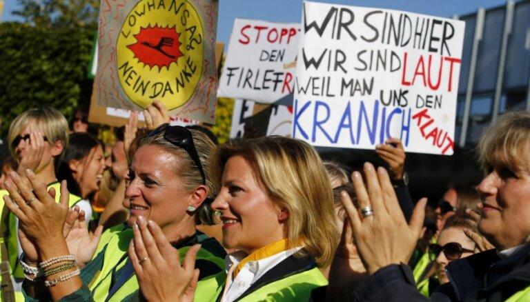 Бортпроводники Lufthansa проведут 48-часовую забастовку