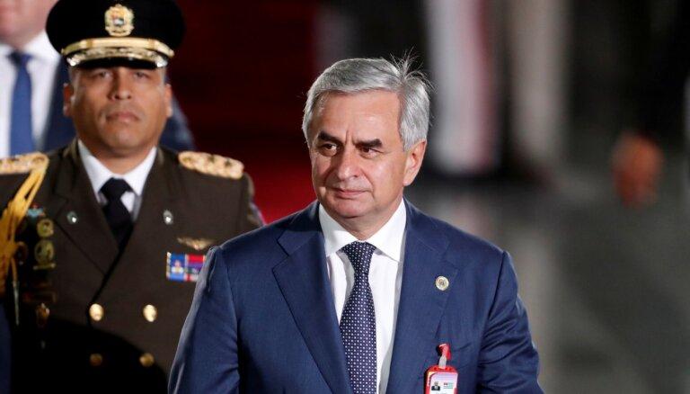Protesti Abhāzijā: atkāpies prezidents Hadžimba