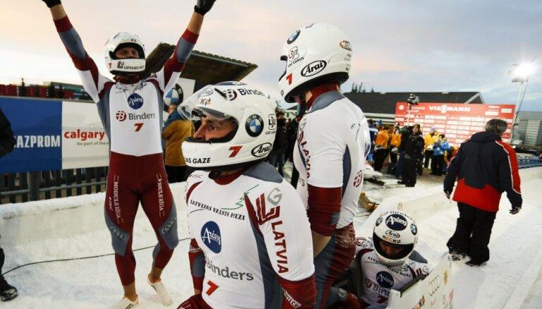 Бобслеист Мелбардис официально станет олимпийским чемпионом Сочи-2014