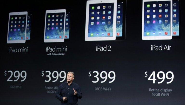Названы официальные цены на iPad Air в Латвии, новый планшет поступил в продажу