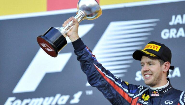 Феттель — трехкратный чемпион мира Формулы-1