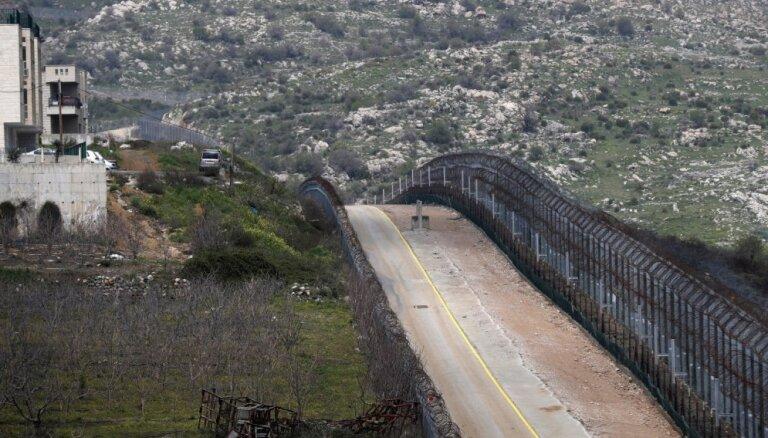 Tramps atzīst Golānas augstienes par Izraēlas teritoriju; Saūda Arābija to nosoda