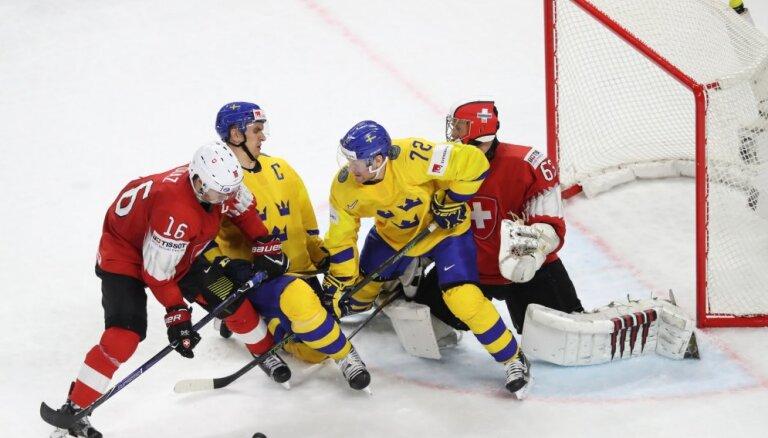 Шведы победили Швейцарию в сумасшедшем финале и защитили титул чемпионов мира