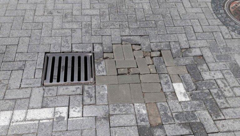 Дело о подделке документов при ремонте ул. Барона в Риге будут рассматривать за закрытыми дверями