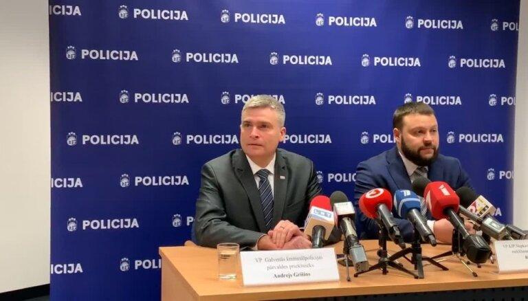 Policija informē par valsts amatpersonas nolaupīšanas novēršanu
