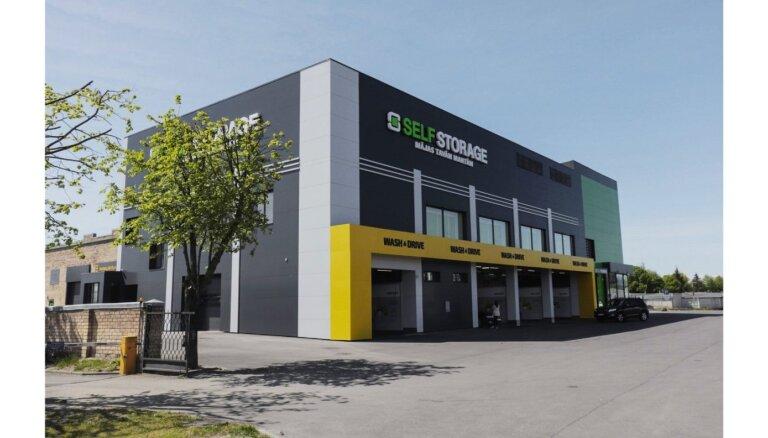 ФОТО: В Риге открылось хранилище для вещей Self Storage