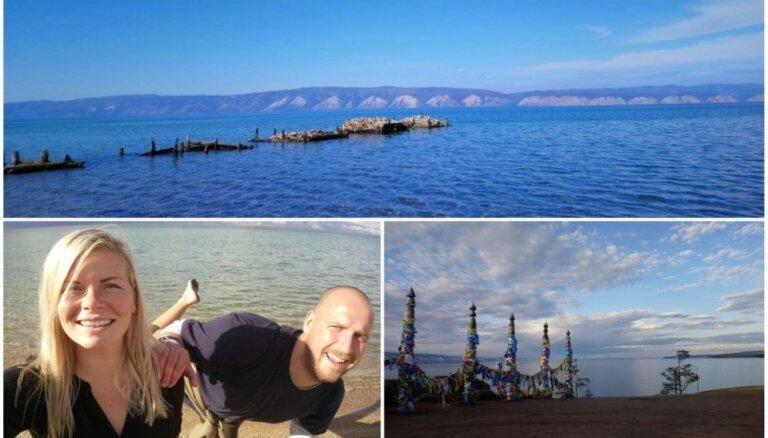 Caur Krasnojarsku līdz Baikālam: latviešu piedzīvojums, apmeklējot dziļāko ezeru pasaulē